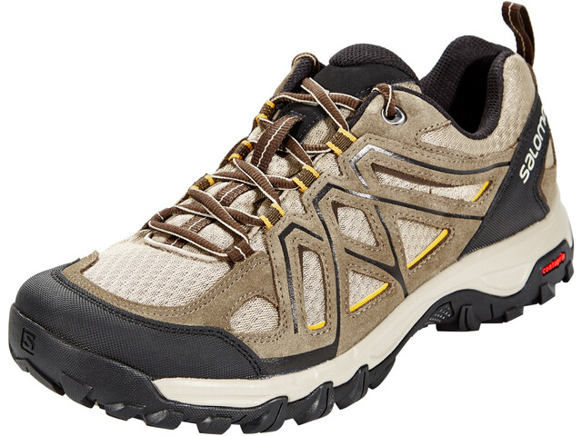 wie man bestellt Super Rabatt erstklassiges echtes Salomon Evasion 2 Aero Shoes Men vintage kaki/bungee cord/honey